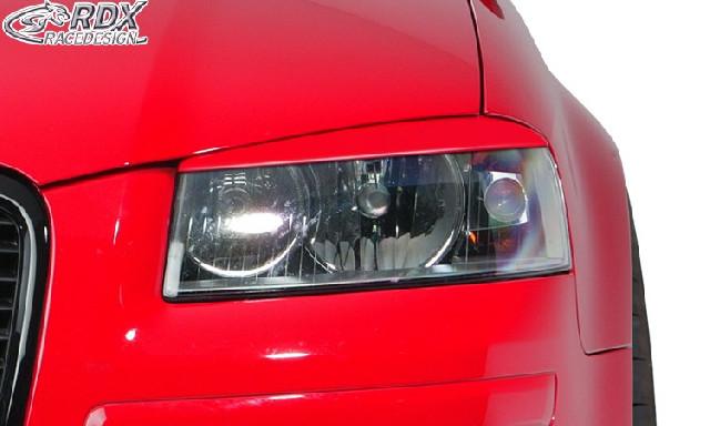 Scheinwerferblenden für AUDI A3 8P Böser Blick