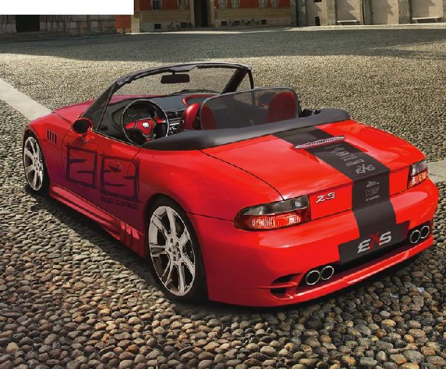 Seitenschwellersatz BMZ Z3 Roadster