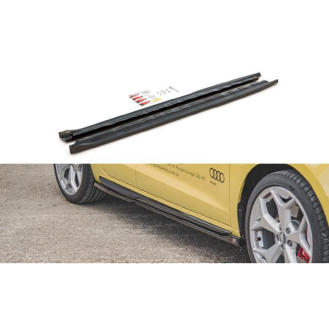 Seitenschweller Ansatz Cup Leisten passend für Audi A1 S-Line GB