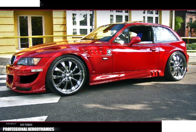 Seitenschwellersatz BMW Z3 Coupe