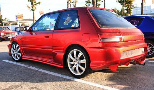 Seitenschwellersatz Mazda 323 BG Speed