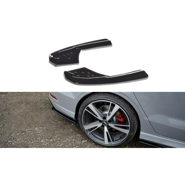 Splitter / Heck Ansatz Diffusor für Audi RS3 8V FL Limousine schwarz matt