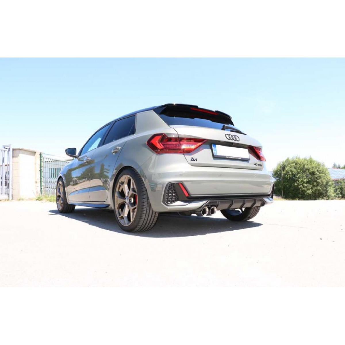 Audi A1 40TFSI Endschalldämpfer - 2x76