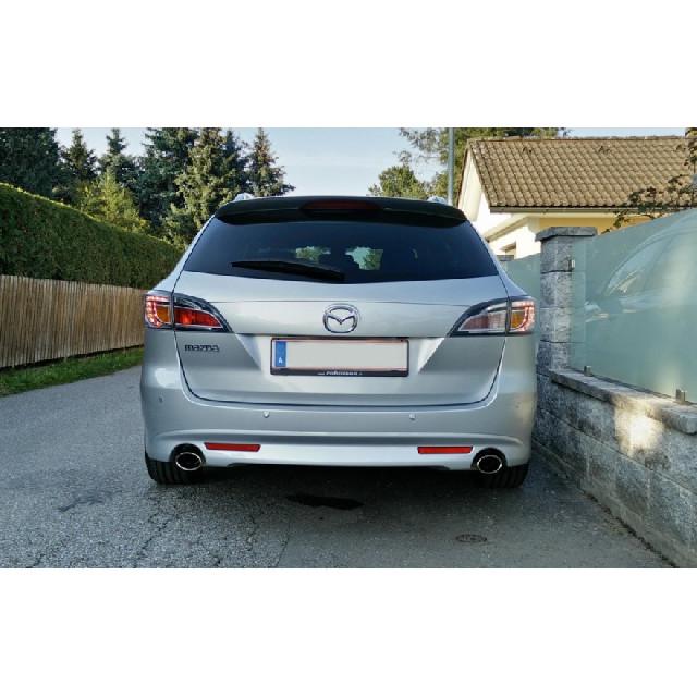 Mazda 6 Typ GH Benzin Endschalldämpfer rechts/links - 106x71