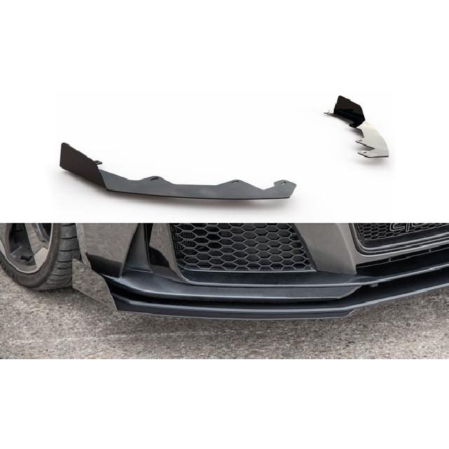 Front Stoßstangen Racing Flaps für Audi RS3 8V Sportback