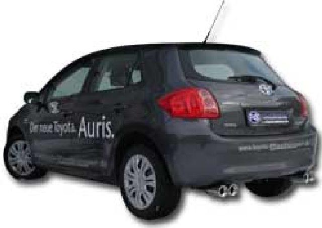 Toyota Auris Diesel FOX Endschalldämpfer rechts/links - 2x90
