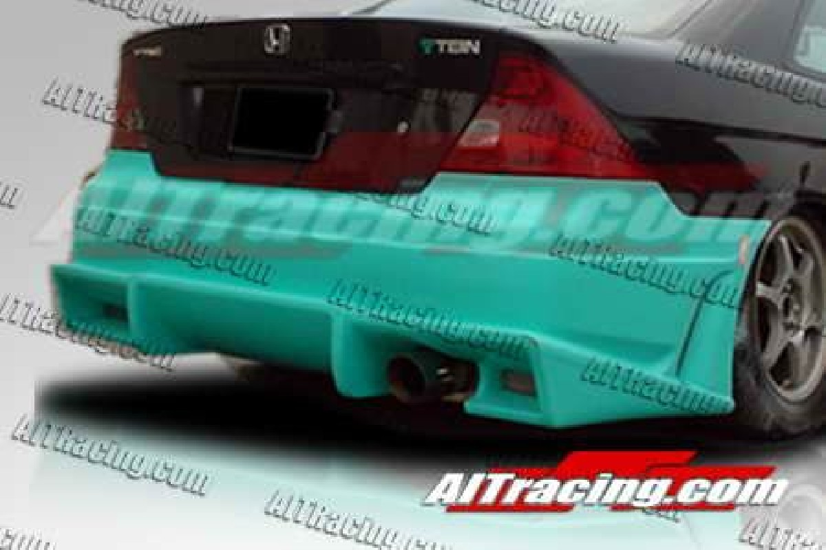 Honda Civic 01-05 Coupe BMX Rear Bumper [AIT]