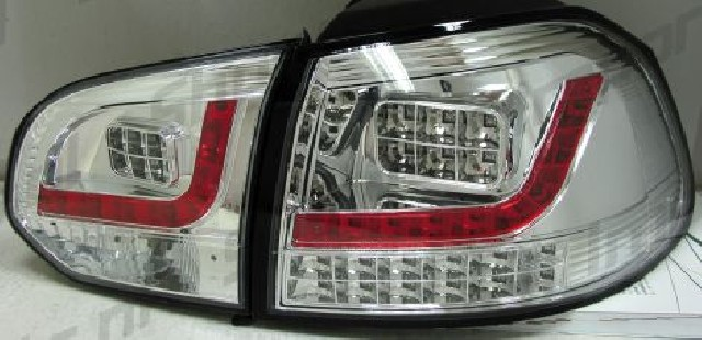 VW Golf 6 LED Taillights Set Clear