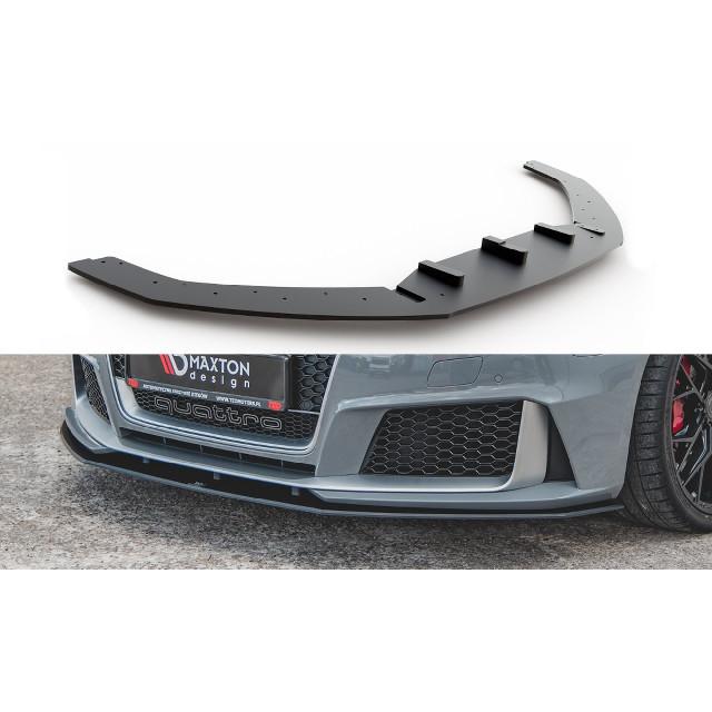 Robuste Racing Cup Spoilerlippe Front Ansatz für Audi RS3 8V Sportback