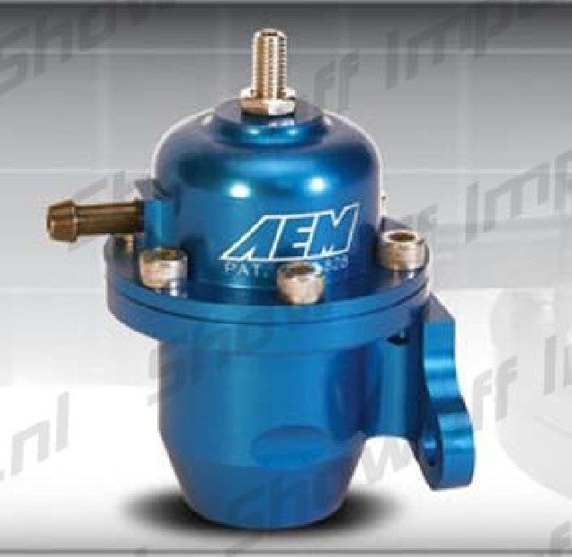 Honda 88-00 AEM Fuel pressure regulator (Most Honda's)