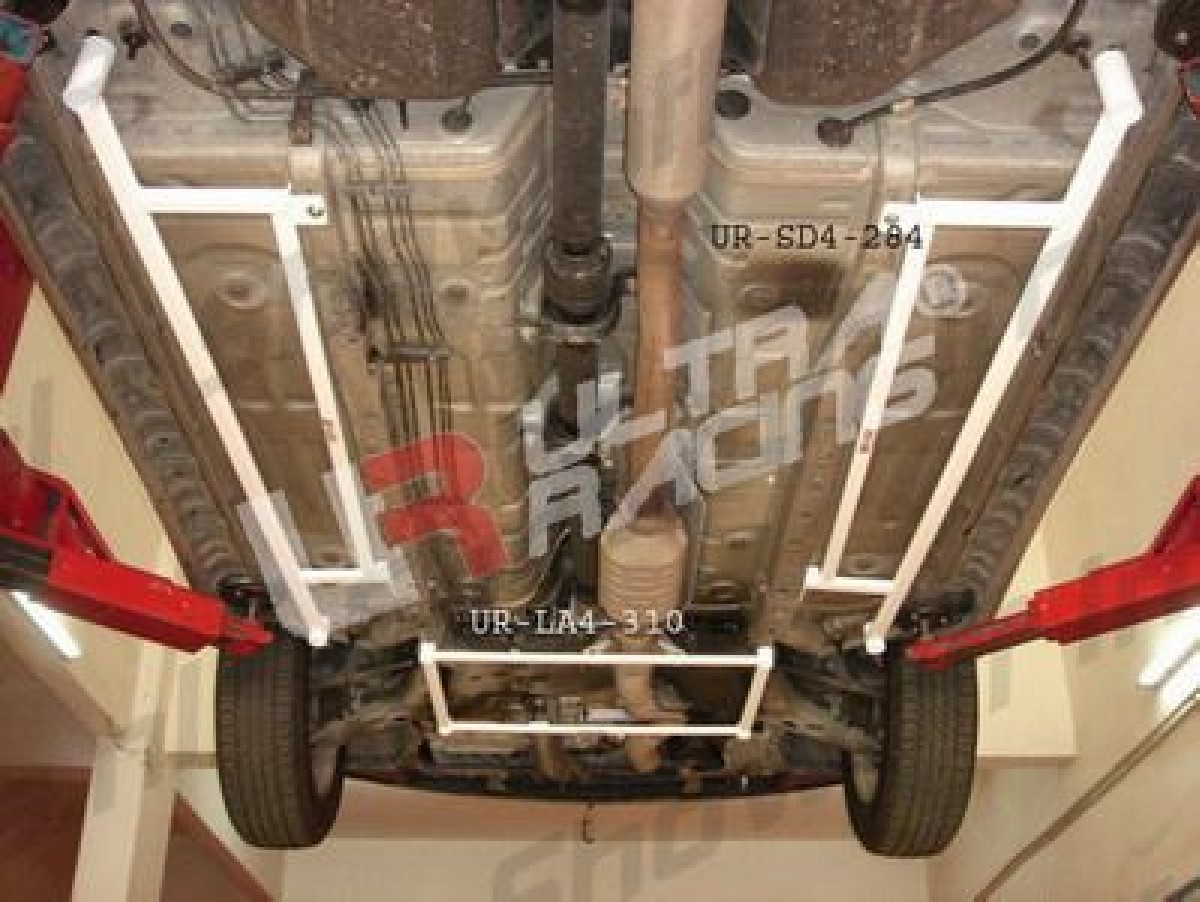 Mitsubishi Outlander 03-06 Ultra-R 2x 4-Point Side Bars