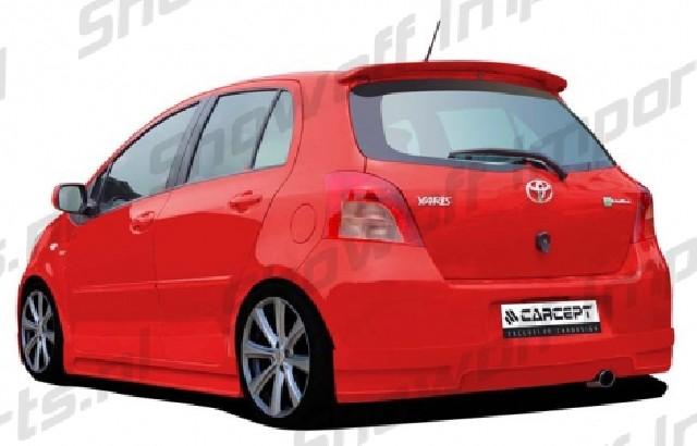 Toyota Yaris 06+ Roof Spoiler [Carcept] Dachspoiler