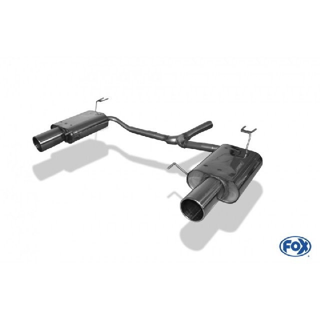 Honda Accord VIII CU1 Limousine & Tourer Endschalldämpfer rechts/links - 1x114  rechts/links