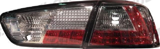 Mitsubishi Lancer 08+ / EVO X LED Taillights Set Clear