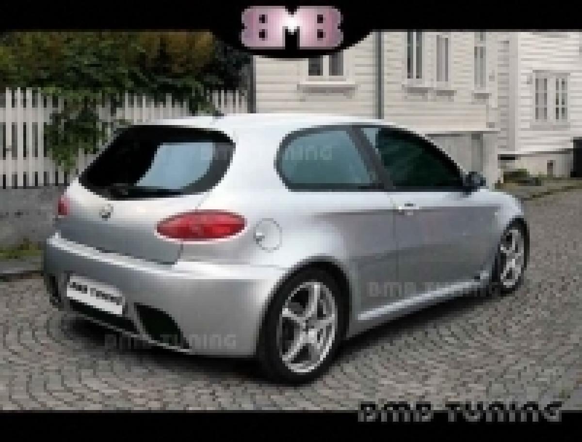 REAR BUMPER ALFA ROMEO 147 GTA
