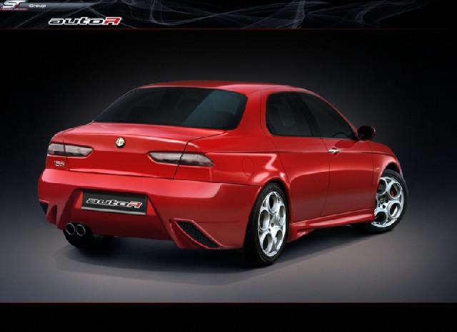 Alfa Romeo 156 Lostboy Rearbumper