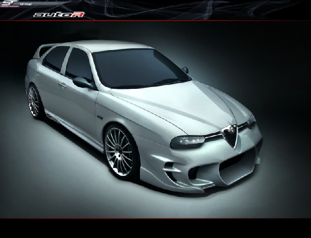 Alfa Romeo 156 Lostboy Frontbumper