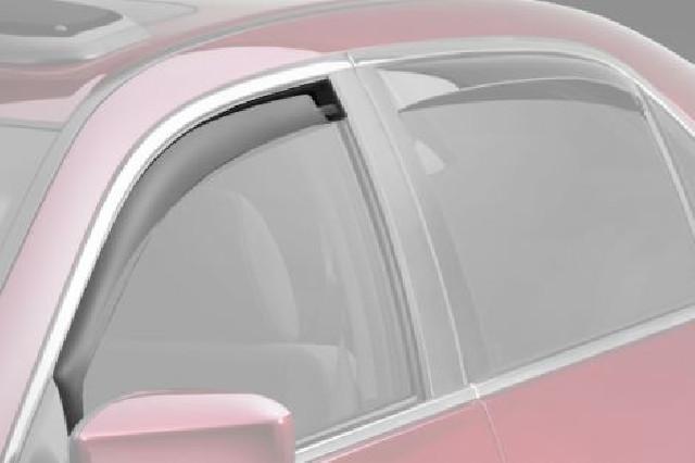 Alfa Romeo 147 01+ 3D ClimAir Window Visors Front Set