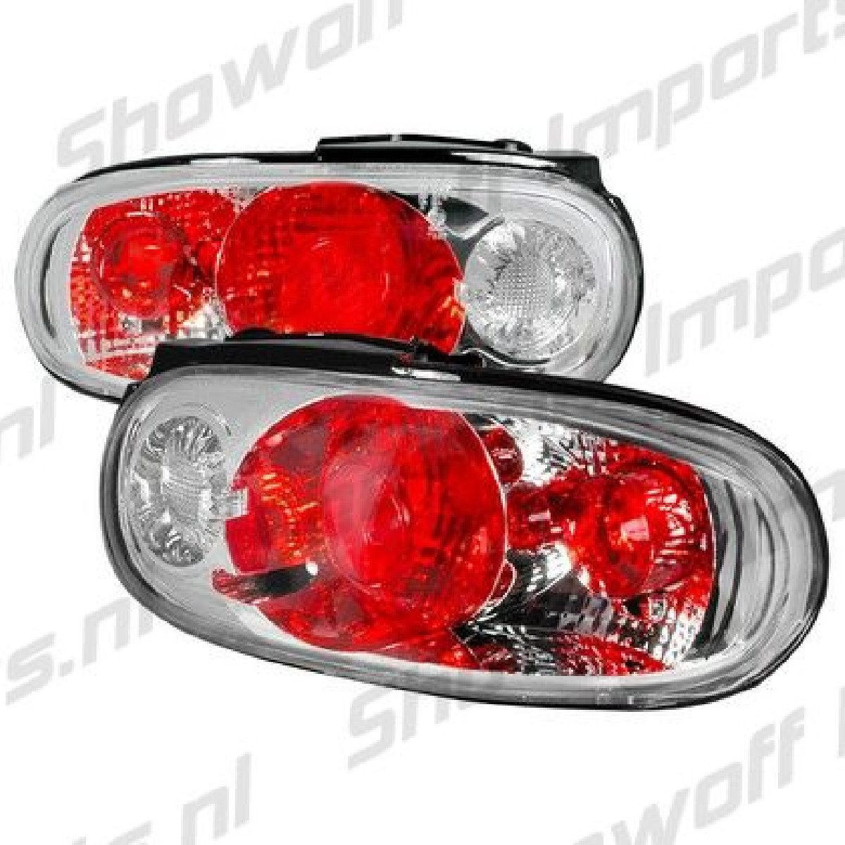 Mazda MX5 89-97 Altezza Style Tail Lights Chrome