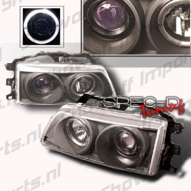 Honda Civic/CRX 88-89 Proj. Headlights Black