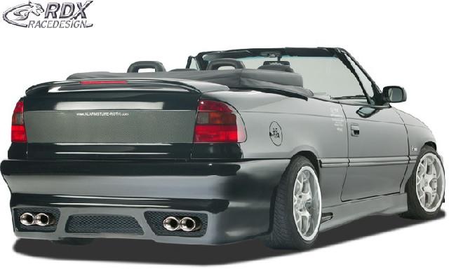 Heckstoßstange Opel Astra F Cabrio / Stufenheck  Heckschürze