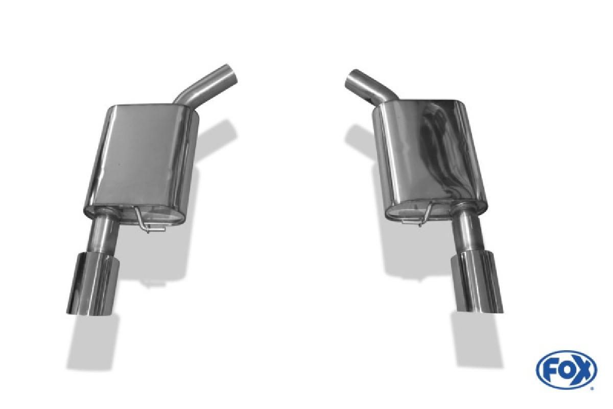 Audi A7 4G - 3,0l TFSI Endschalldämpfer rechts/links - 1x100