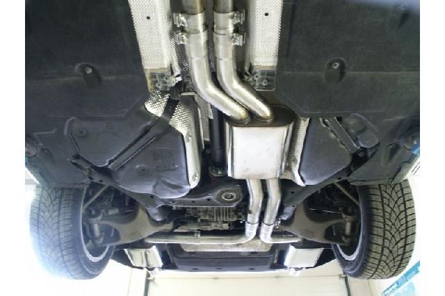 FOX Audi A8 Typ 8H  Vorschalldämpfer
