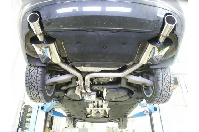 FOX Audi A8 Typ 8H  Endschalldämpfer rechts/links - 1x100 Typ 16 rechts/links