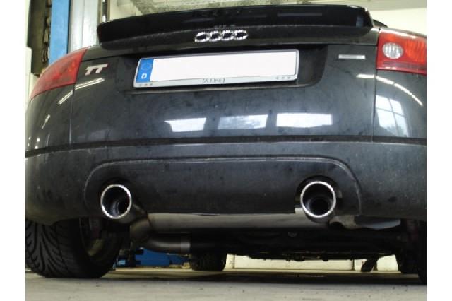 Audi TT Typ 8N quattro Endschalldämpfer Ausgang rechts/links - 1x100