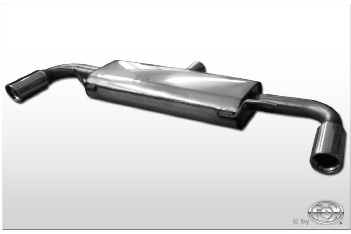 Audi TT 8J - 3,2 V6 Endschalldämpfer rechts/links - 1x90