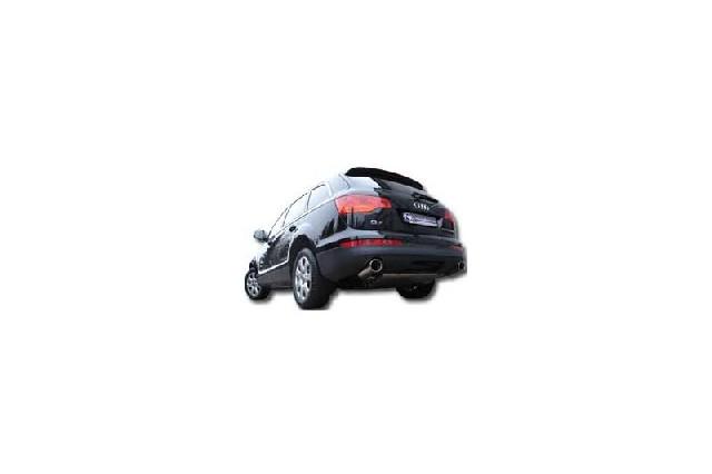 FOX Audi Q7 - 3,0l TDI  Endschalldämpfer Ausgang rechts/links - 129x106 Typ 32 rechts/links