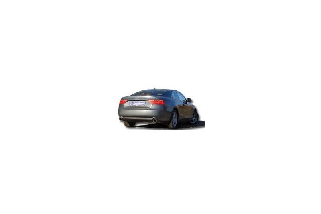FOX Audi A4/A5 B8 - A4/ A5 quattro B8  Endschalldämpfer rechts/links für 1-Rohr - 1x100 Typ 17 rechts/links