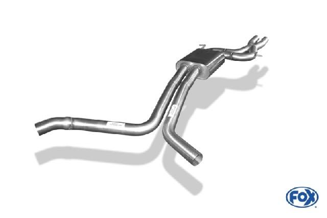 Audi A7 4G - 3,0l TFSI Vorschalldämpfer
