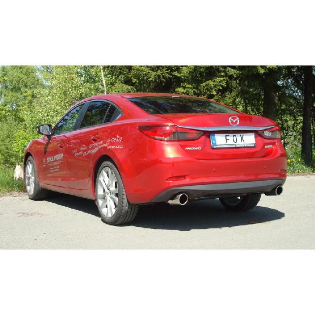 Mazda 6 - GJ Limousine Endschalldämpfer quer Ausgang rechts/links - 1x100