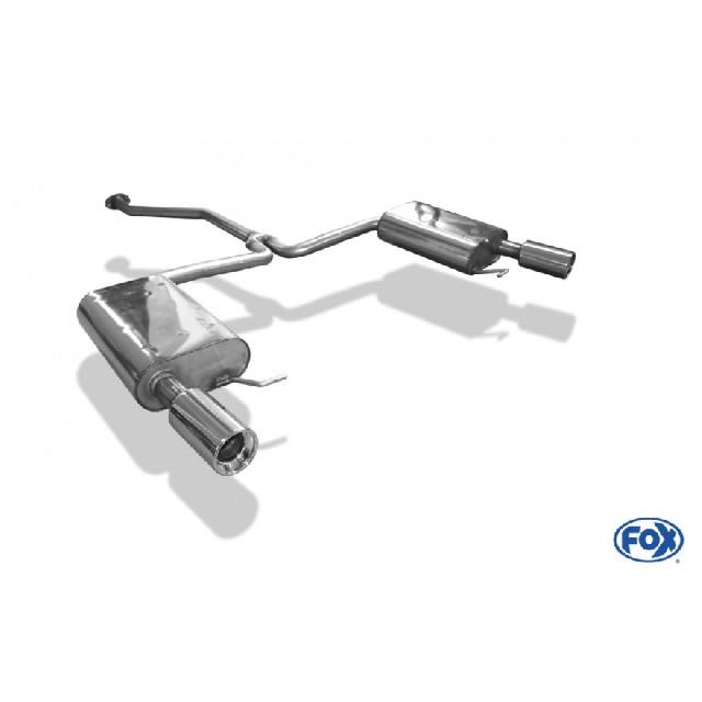 Mazda 6 Typ GH Benzin Endschalldämpfer rechts/links - 1x90