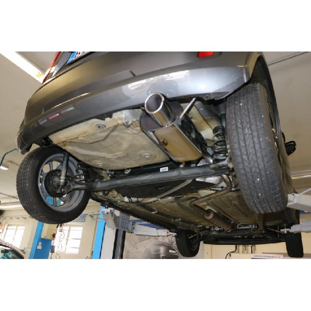 Suzuki Ignis III - Frontantrieb Endschalldämpfer - 1x90