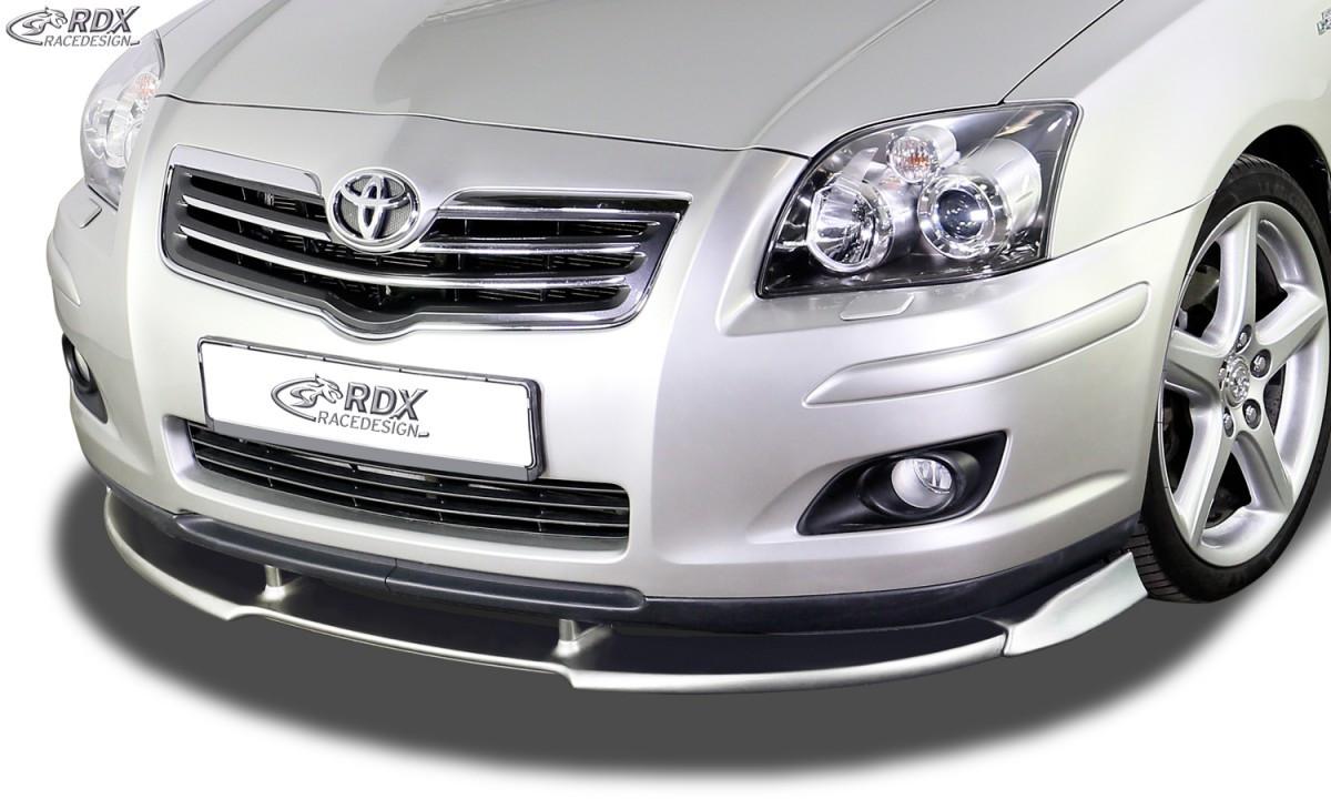 Frontspoiler VARIO-X TOYOTA Avensis 2006-2009 Frontlippe Front Ansatz Vorne Spoilerlippe