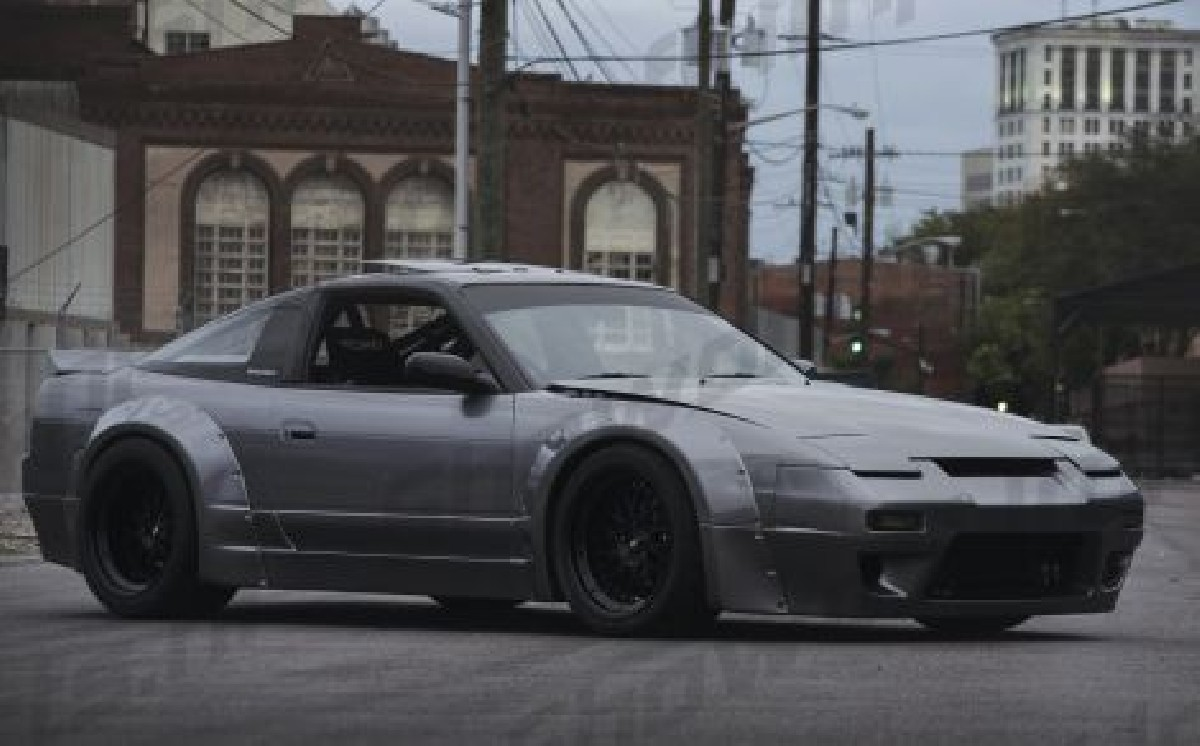 Nissan S13 89-94 Rocket Bunny Style Wheel Arches 8P