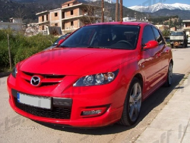 Mazda 3 ABS Eyebrows 5 Doors 03-07 [SIX]