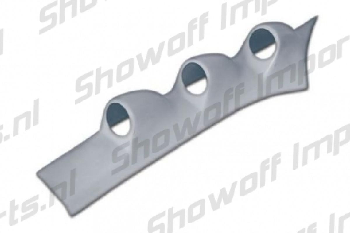 Honda Delsol 92-97 Vivid A-Pillar Triple Gauge Pod