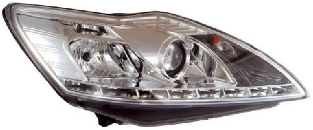 Ford Focus Mk2 08-11 Headlights Set Clear