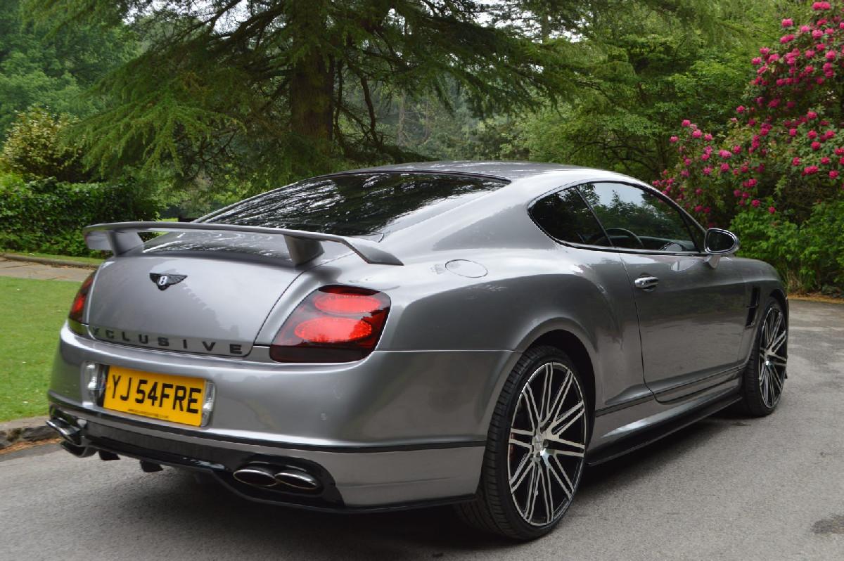 Heckstoßstange Bentley Continental GT/GTC 03-13