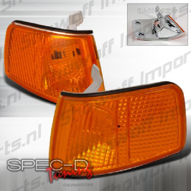 Honda CRX 90-91 Corner Lights Amber Clear V2 Single Bulb