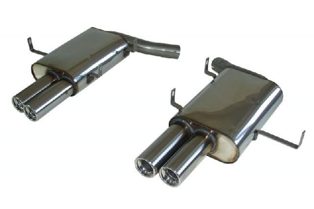 FOX BMW E39 M5  Endschalldämpfer rechts/links - 2x80 Typ 13 recht/links