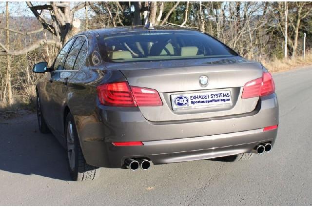 FOX BMW F10 535i  Endschalldämpfer rechts/links - 2x80 Typ 12 rechts/links