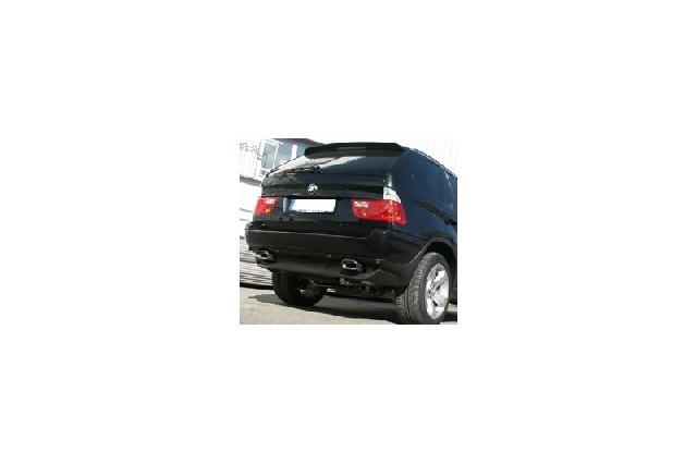 FOX BMW X5 E53  Endschalldämpfer rechts/links - 160x80 Typ 53 rechts/links