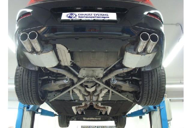 FOX BMW F12 650i Cabrio  Endschalldämpfer rechts/links - 2x90 Typ 16 rechts/links