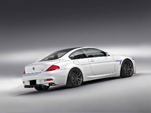 Heckstoßstange BMW E63 E64 Baujahr 03-10 Cabrio Coupe