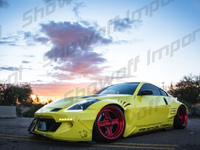 Nissan 350Z Rocket Bunny Style Wide Bodykit 9-Piece