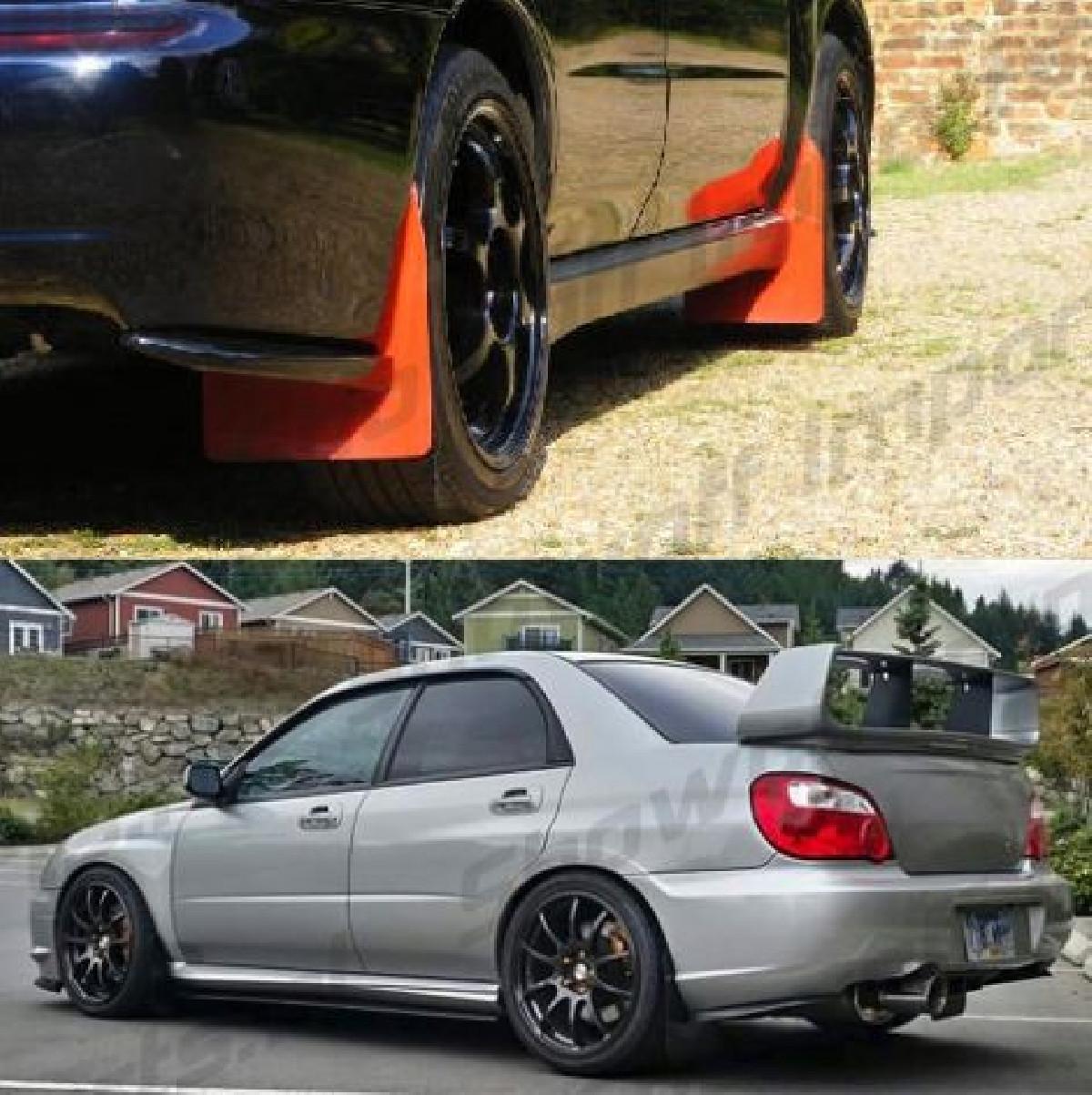Subaru Impreza WRX/STI 03-07 Rear Lips